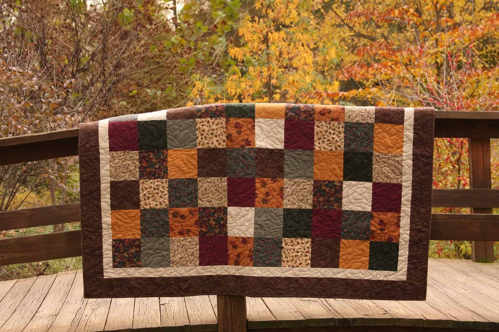 Gingersnap Quilts » Fall in Springbrook Park : fall quilt - Adamdwight.com